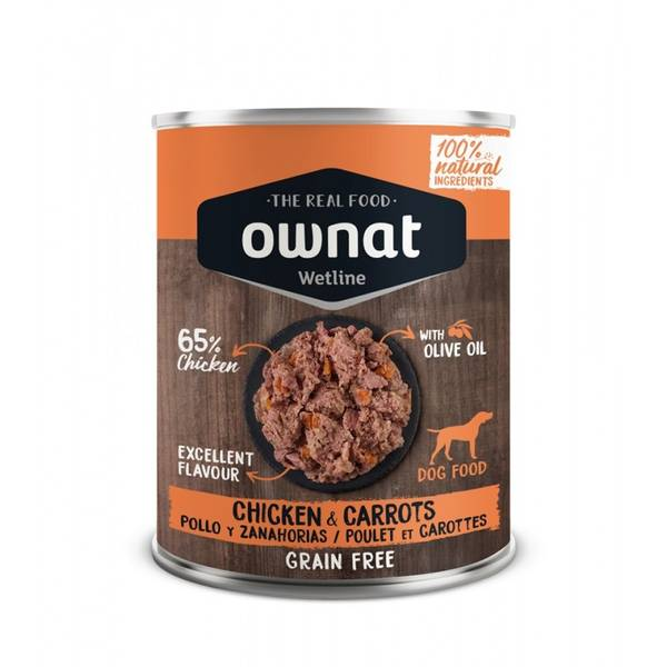 Bilde av Ownat våtfôr kalkun og gulrøtter 400g