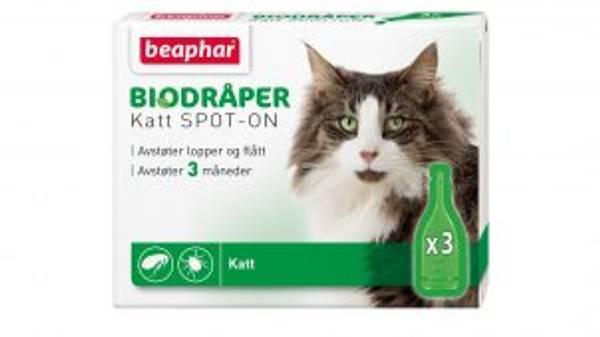 Bilde av Beaphar Bio-dråper katt